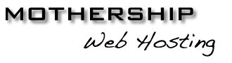 Mothership Web Hosting Logo - Link to: http://www.mothership.co.nz